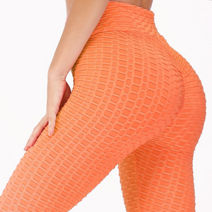 Textured Weight Loss & Anti Cellulite Push Up Fitness Legging