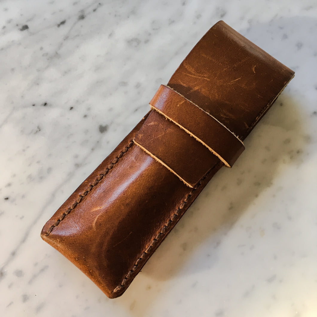 Leather Writing Instrument Case