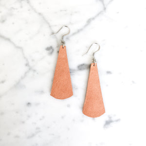 Thalia Leather Drop Earring