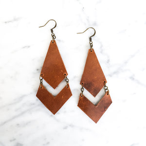 Willow Leather Earring
