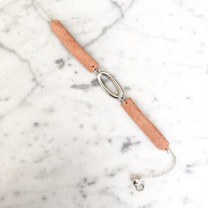 Chloe Leather Anklet