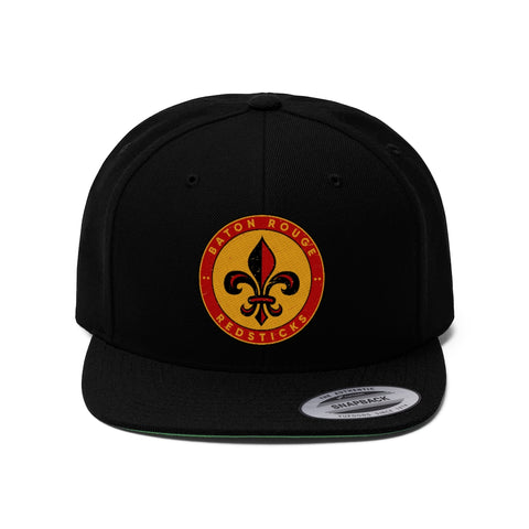 Baton Rouge Redsticks Unisex Flat Bill Hat