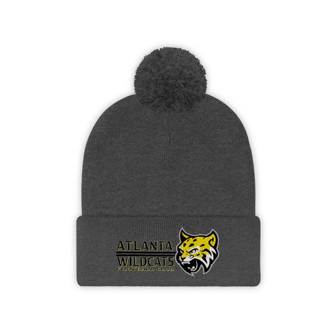 Atlanta Wildcats Secondary Pom Pom Beanie