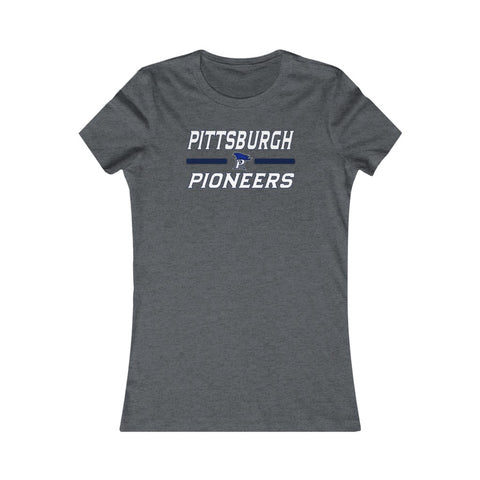 Pittsburgh Pioneers Women's Favorite Tee