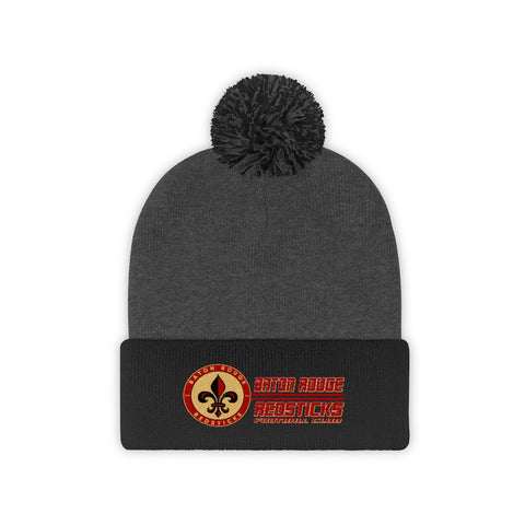 Baton Rouge Redsticks Secondary Pom Pom Beanie