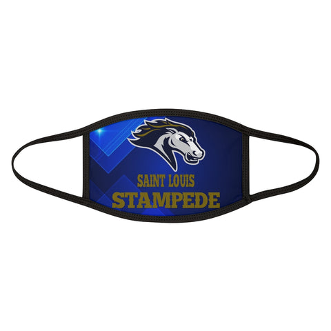 Saint Louis Stampede Mixed-Fabric Face Mask