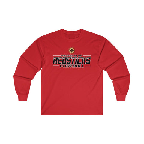 Baton Rouge Redsticks Ultra Cotton Long Sleeve Tee