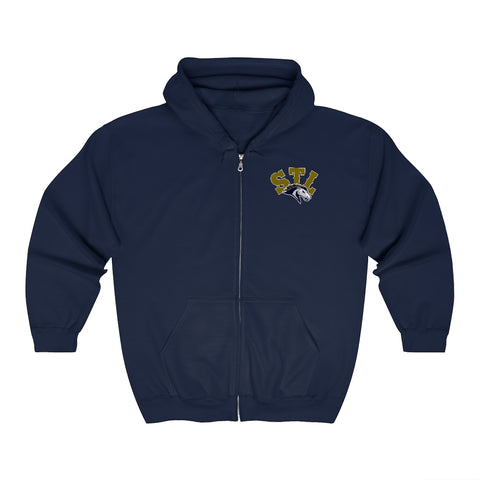 Saint Louis Stampede Unisex Zip Up Hoodie