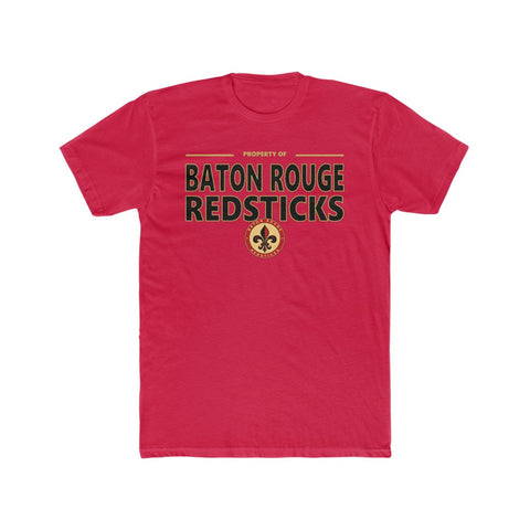 Baton Rouge Redsticks Men's Cotton Crew Tee