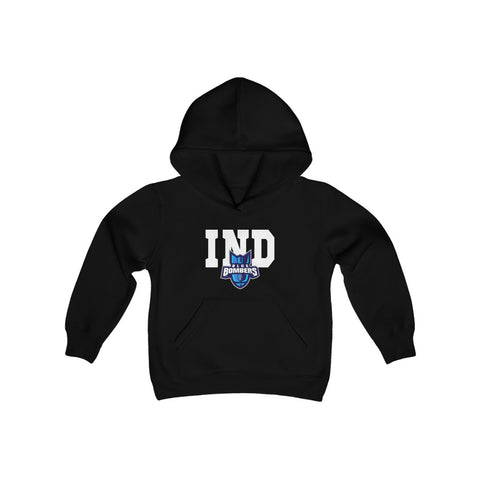 Indiana Blue Bombers Youth Heavy Blend Hooded Sweatshirt