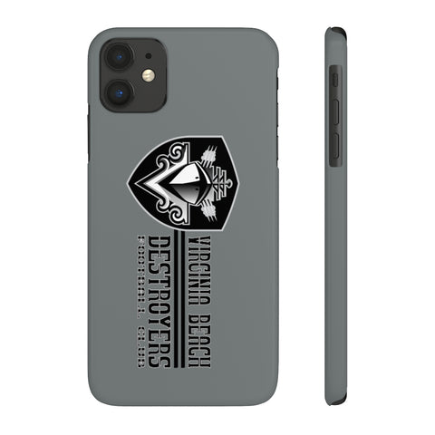 Virginia Beach Destroyers Case Mate Slim Phone Cases