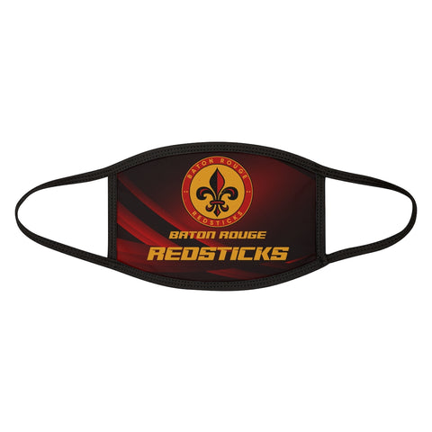 Baton Rouge Redsticks Mixed-Fabric Face Mask