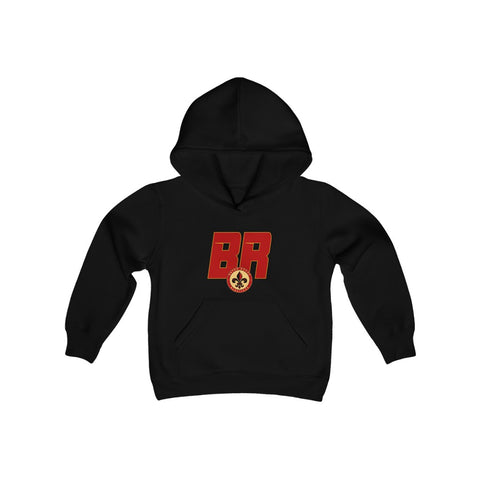 Baton Rouge Redsticks Youth Heavy Blend Hooded Sweatshirt
