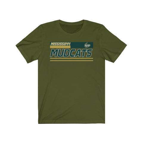 Mississippi Mudcats Unisex Jersey Short Sleeve Tee