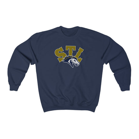 Saint Louis Stampede Unisex Heavy Blend™ Crewneck Sweatshirt
