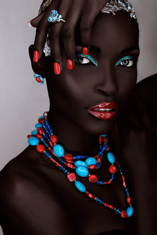 Paulo Toureiro - African Beauty 03 - Image of a beautiful African woman