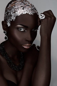 Paulo Toureiro - African Beauty 07 - Portrait of a beautiful black woman