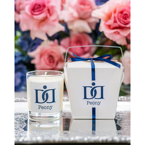 The Dermal Diary Peony Candle