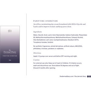 The Private Collection - Purifying Hydration