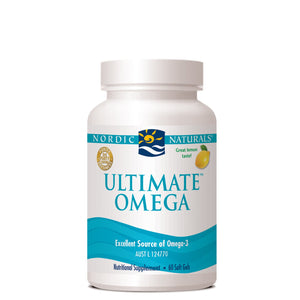 Nordic Naturals - The Ultimate Omega Lemon 60 Soft Gel Caps