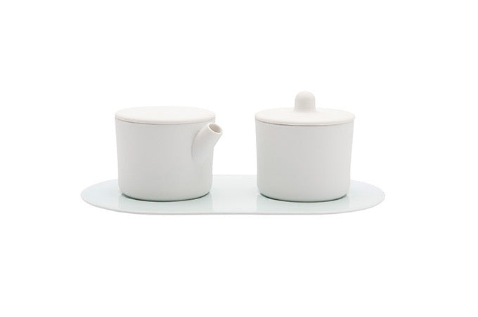 1616/ Arita Milk and Sugar Set