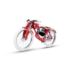 Load image into Gallery viewer, Munro 2.0 Electric Motorcycle 2 Wheels Retro Style E-bike City Cruiser Motorbike, Windsor Red