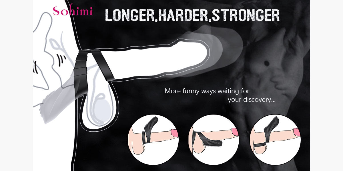 Sohimi cock ring sex toy for men