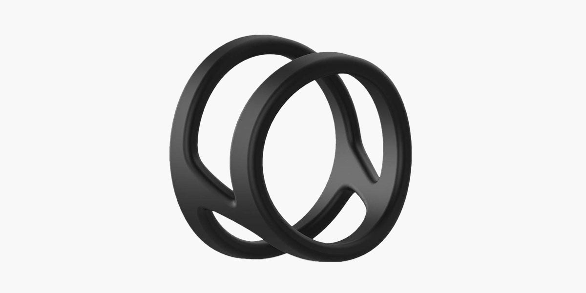 Sohimi male cock ring double ring simple shape