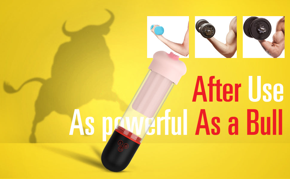 Sohimi's penis head pump is the penis trainer for you, penis got stronger as a bull.