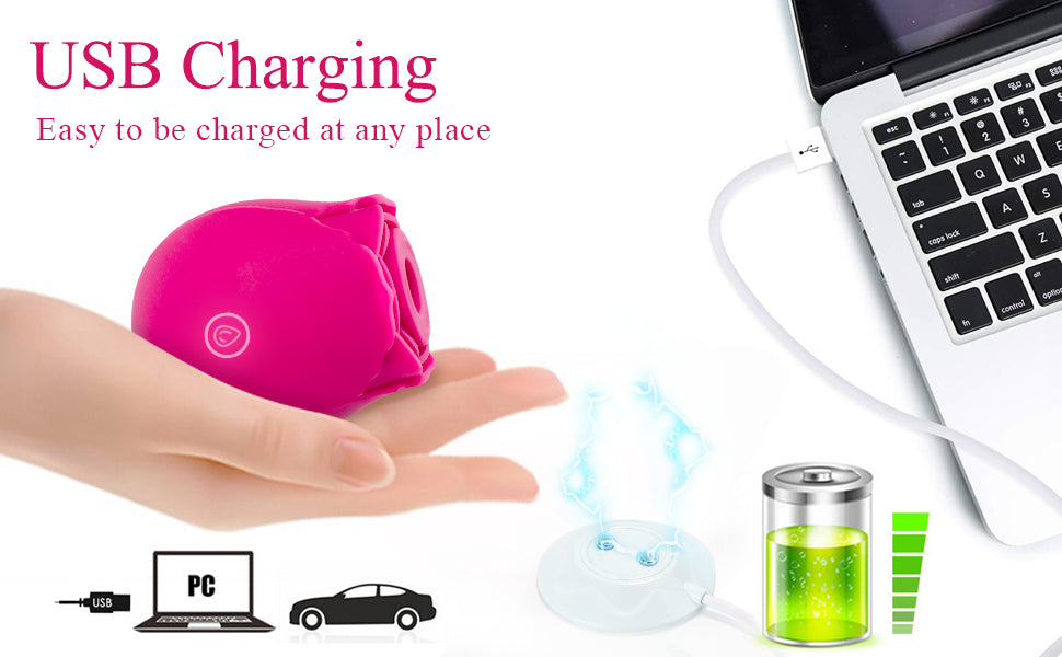 USB charging Sohimi rose vibrator
