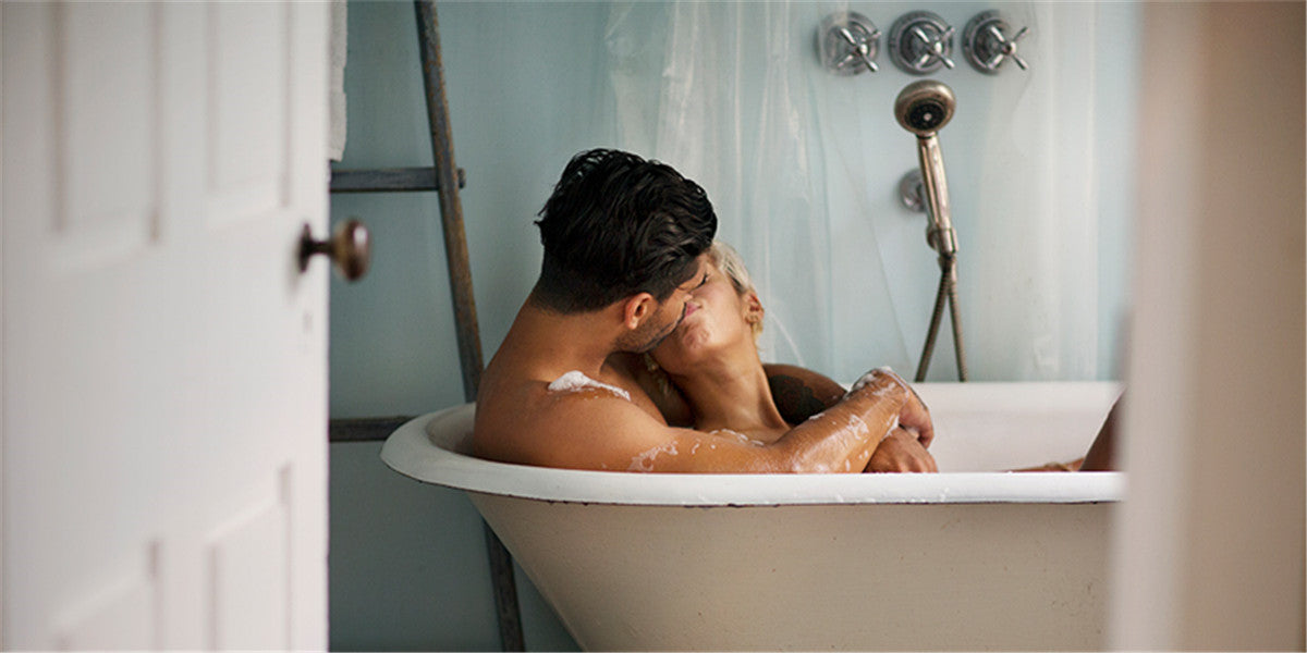 tub sex with your partner in bathtub