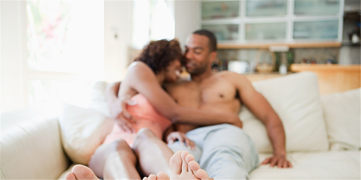 sex in the living room with your partner