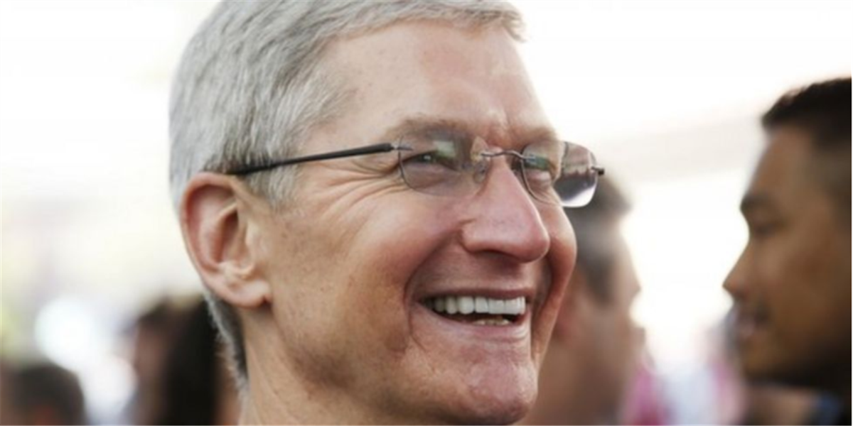 He is Tim Cook