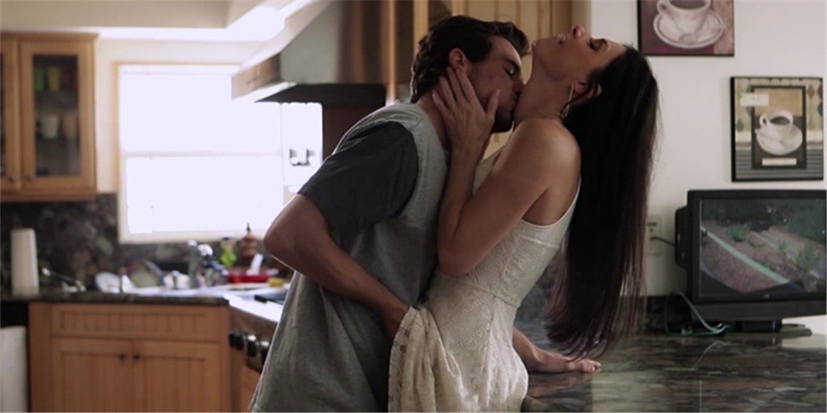 sex in kitchen with your lover position in kitchen