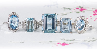 The Queenly Appeal of Aquamarine