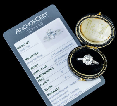 Anchorcert Diamond Certification