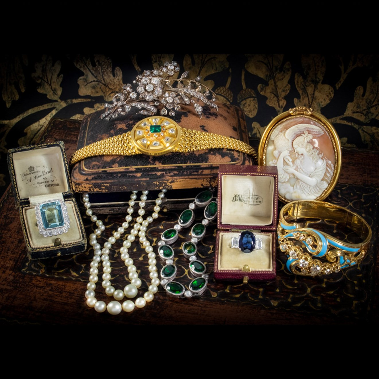 Collection of Antique Jewellery Pieces