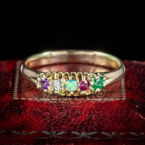 Victorian Adore Ring