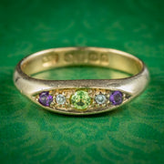Antique Edwardian Suffragette Ring Dated 1913