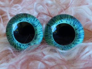 Hand Painted Eyes-Multi
