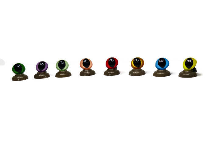 10mm -  Cat Safety Eyes - 20 Colours Available