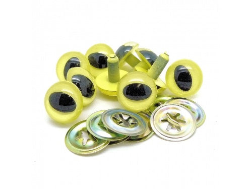 LEMON PEARL Cat Eyes  7.5mm 10mm 14mm