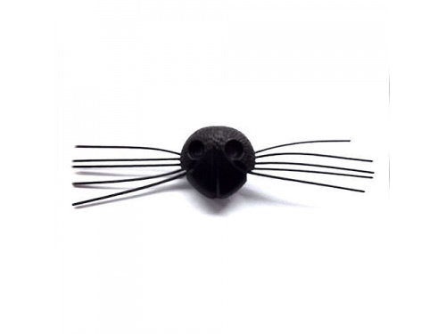 22mm Cat Nose with Whiskers
