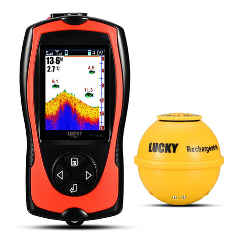 2019 New LUCKY Wireless Sonar Fish Finder/Transducer