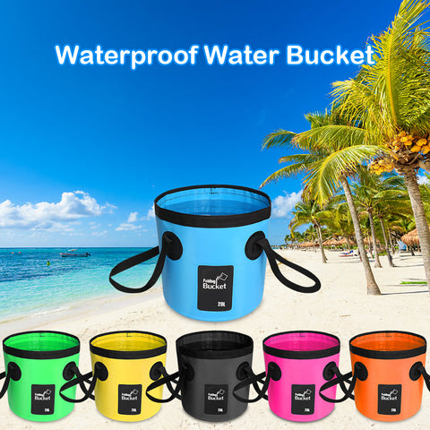 12L / 20L Waterproof Folding Bucket For Fishing or Outdoors