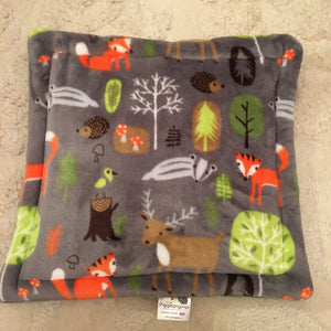 Lap Pad - Woodland with Green Fleece