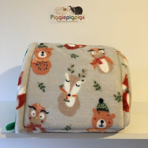 Christmas 2020 Piglu - Winter Animals with Green Fleece