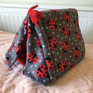 Tent - Ladybugs with Red Fleece