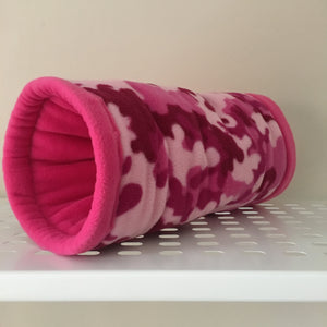 Tunnel - Pink Camo with Hot Pink Fleece