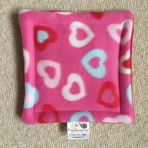 Valentines 2019 Bottle Pad - Ltd Ed Hearts with Red Fleece